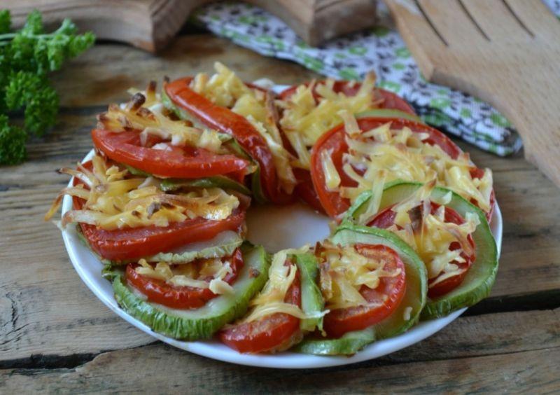 1. Этап. Овощи готовы, подавайте теплыми.