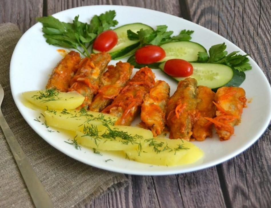 1. Этап. Дайте рыбе настояться 15 минут и можно подавать. Приятного аппетита!!!
