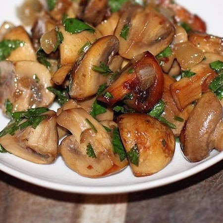 1. Stage. <strong>The fried pickled champignons</strong> are ready.