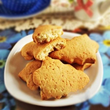 1. Этап. Печенье немного охладите и подавайте.