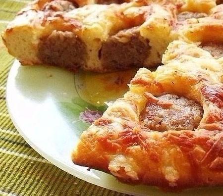 1. Этап. Выключите духовку и дайте пирогу постоять в горячей духовке еще несколько минут, после подавайте.
