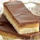 1. Stage. <strong>Homemade twix</strong> cut portions and can be served.
